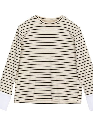 Kang Mi Raes Striped Shirt from the KDrama my ID is Gangnam Beauty