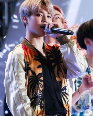 Jimin Fire Jacket