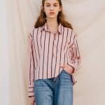 Striped Pink Shirt| Kang Mi Rae – My ID is Gangnam Beauty