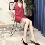 Red Woven Dress  | Taeyeon – Girls Generation