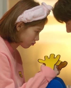 Pink Bart Simpson Sweater | Kim Bok Joo – Weightlifting Fairy Kim Bok Joo