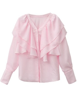 Pink Blouse from Kim Mi Soo