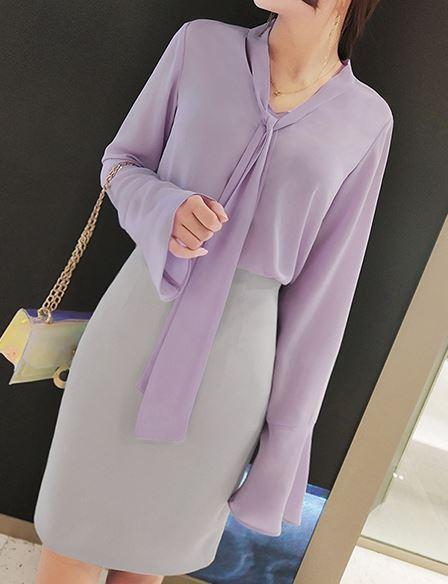Lilac Blouse | Kim Mi So