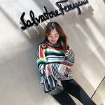 Long Sleeved Colored Pullover | Lisa – Blackpink