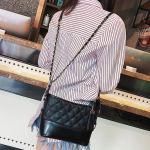 Elegant Black Bag | Hyuna