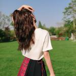 Black Red Checkered Skirt   Hani – EXID