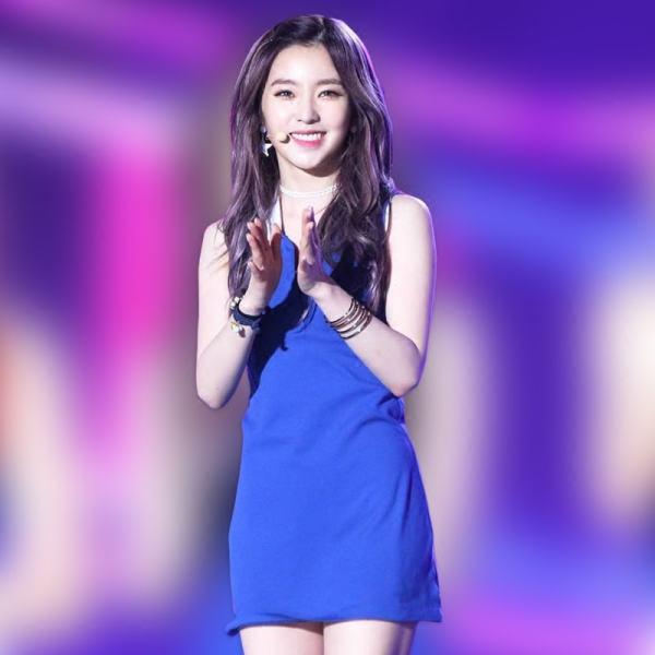 Blue Short Dress   Irene – Red Velvet