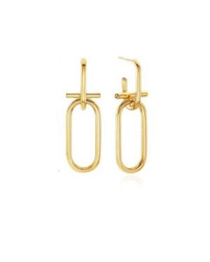 Gold Chain Earrings | Cha Soo-Hyun – Encounter