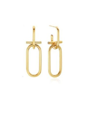 Gold Chain Earrings | Cha Soo-Hyun – Encounter