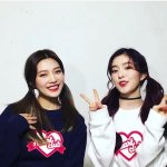 Heart Club Sweater | Red Velvet