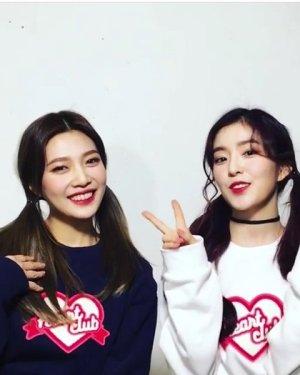 Heart Club Sweater | Red Velvet