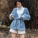 Fluf Cardigan with Belt | Jimin – BTS