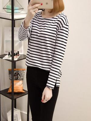 Striped Women Shirt (4)