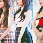Skirt Checkered | Sana – Twice