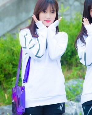 Lilac Transparent A5 Bag | Mina – Twice