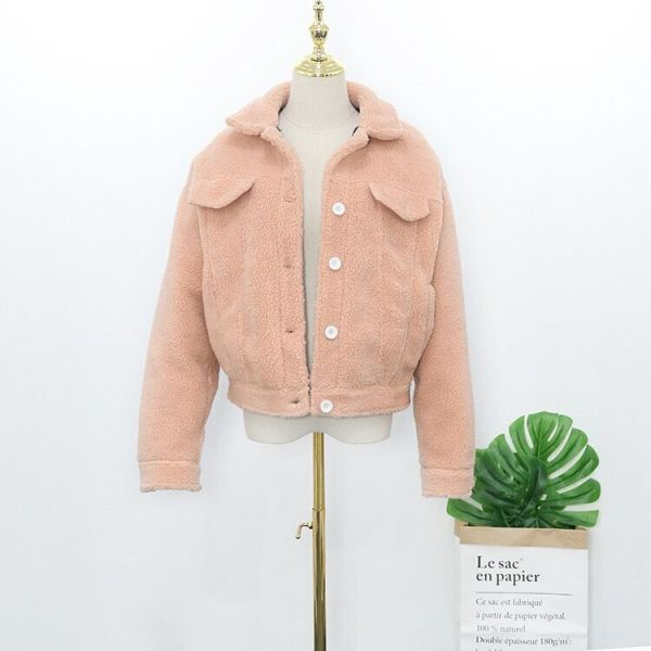 Fluffy Pink Jacket   Wendy – Red Velvet
