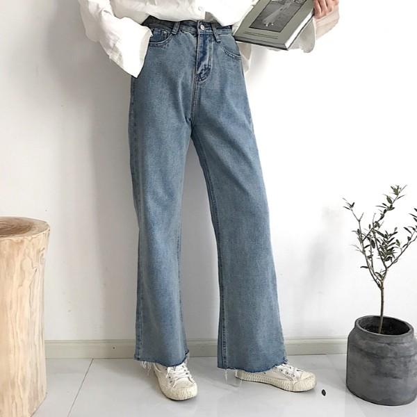 Wide Blue Jeans | Jennie – BlackPink