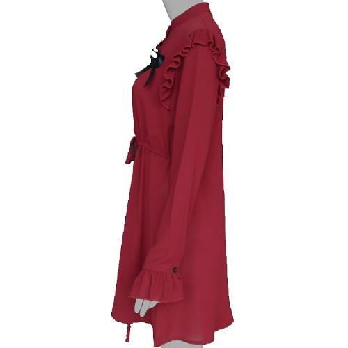 Red Dress with Ribbon | Irene – Red Velvet
