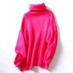 Pink Turtleneck Sweater | Joy – Red Velvet