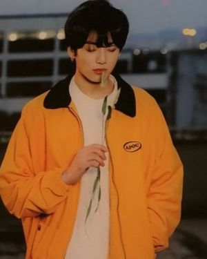 Jungkook Yellow Jacket from Euphoria MV | BTS