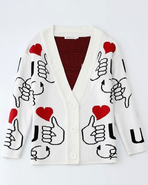 exo-baekhyun-thumbs-up-heart-cardigan