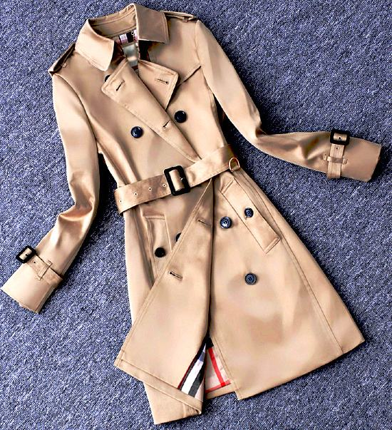 Chic Beige Coat | Do Bong Soon – Strong Woman Do Bong Soon