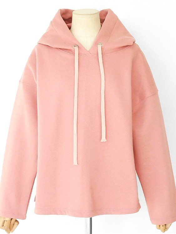 Loose Pink & Blue Hoodie | Do Bong Soon – Strong Woman Do Bong Soon