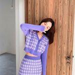 Lilac Cardigan   Jennie – BlackPink