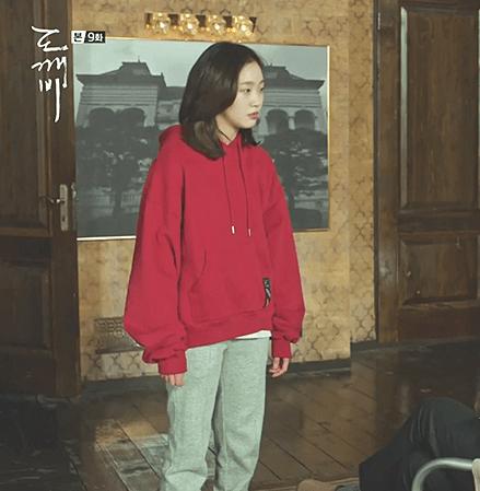 Plain Red Hoodie | Ji Eun-Tak – Goblin