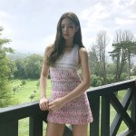 Pink White Blinky Dress | Jennie – BlackPink
