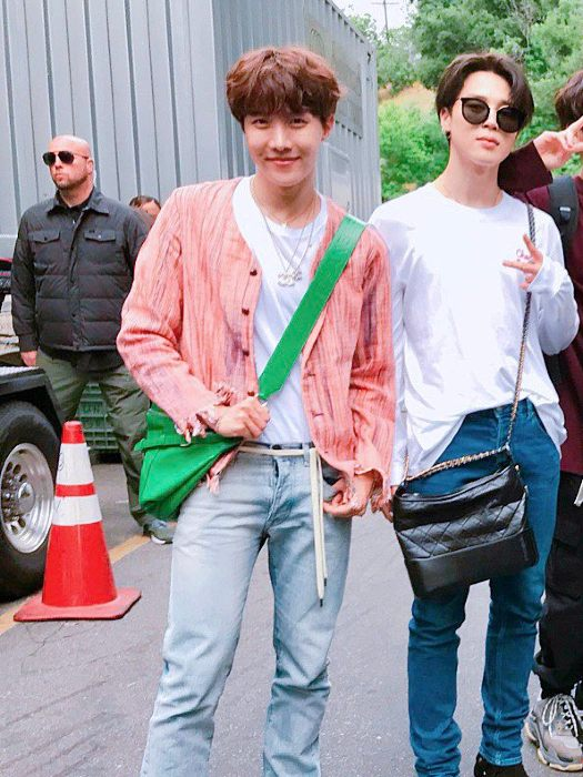 Pink Hemp Cardigan | J-Hope – BTS