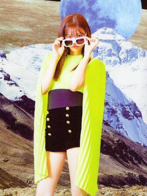 Black Velvet Shorts   Jeongyeon – Twice
