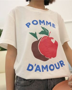 Chung Ha Apple Pomme T-Shirt (5)
