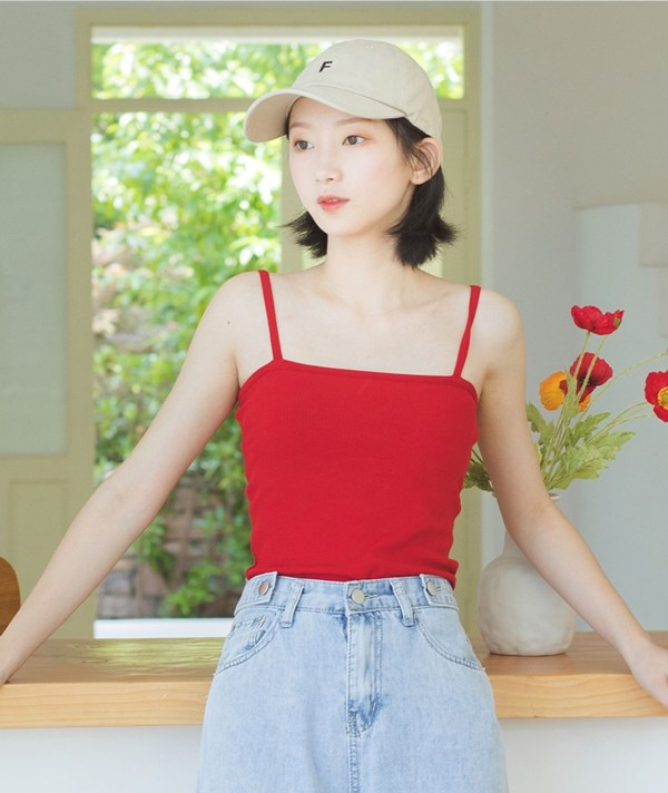 Red Camisole | Hyuna