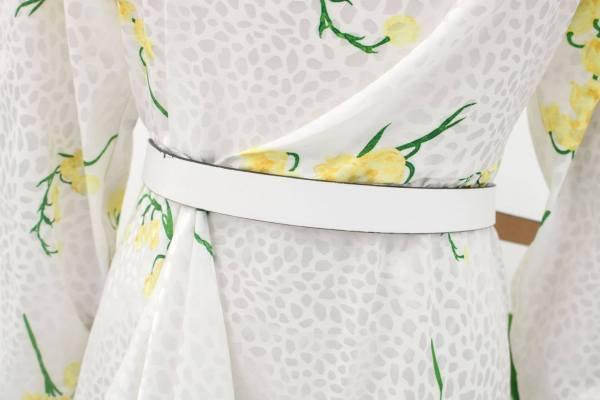 Spring Yellow Flowers Dress | Irene – Red Velvet