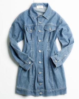 Lisa Waist Tight Denim Dress (4)