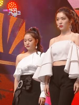 Black Half Ribbon Skirt   Yeri – Red Velvet