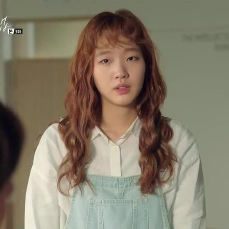 Cheese in the Trap Hong Seol wearing Jeans Jumpsuit