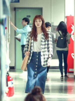 Plaid Suit Jacket | Hong Seol – Cheese in the Trap