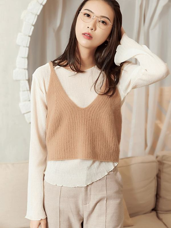 Student Crop Top | Hong Seol – Cheese in the Trap