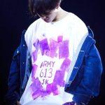 Jungkook Own Design Graffiti T-Shirt | Jungkook – BTS