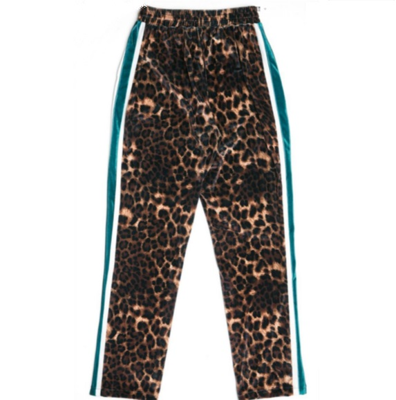 Leopard Print High Waist Pants | Momo – Twice