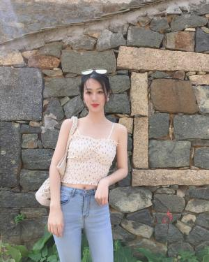 Soojin Padded Cherry Floral Sling Top (12)