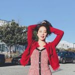 Red Sling Knit Jumpsuit Dress | Jisoo – BlackPink