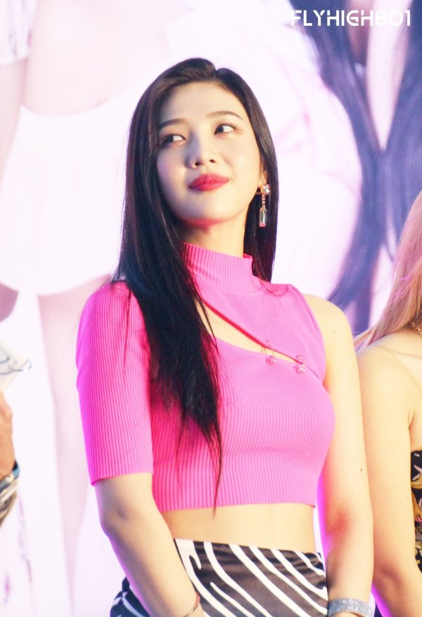 Slant Chest Cut Crop Top   Joy – Red Velvet