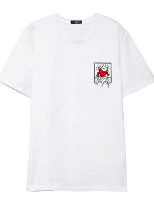 NCT Doyoung Dripping Heart T-Shirt (1)