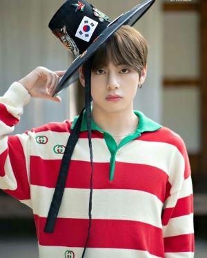 Long Sleeved Striped Shirt | Taehyung  -BTS