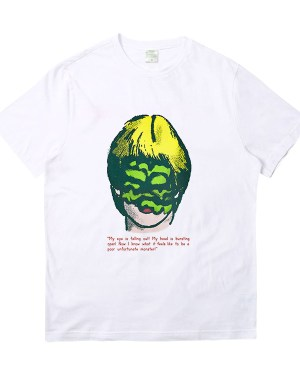 Taeyong Blonde Eye Covered Monster Girl T-Shirt