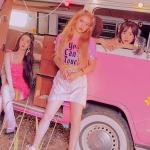 """You Can't Touch This"" Pink Sequin T-Shirt 