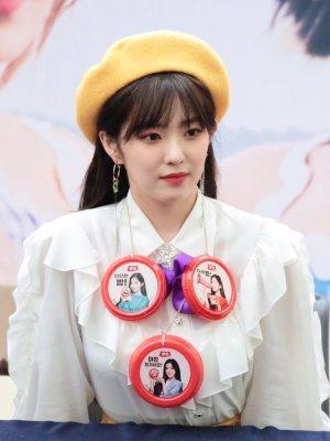 Ruffled Long Sleeved Shirt| Irene – Red Velvet